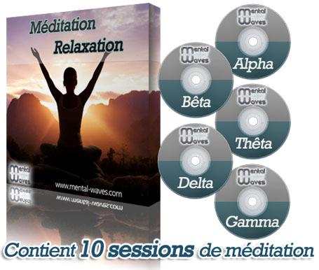 Coffret Méditation-Relaxation