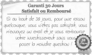 Garantie 30jours explication