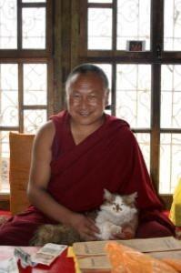 moine bouddhiste tibétain