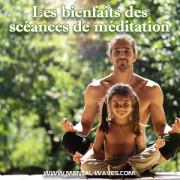 Les bienfaits des séances de méditation