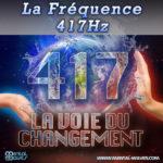 fréquence sacrée 417 Hz