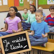 Une école remplace la punition par la méditation